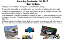 Orangetown Police Department Open House September 16, 2017